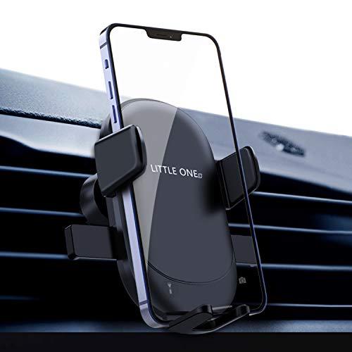 Handyhalterung Auto Schwerkraft Lüftung Auto Handyhalter Upgrade mit Hakenartigen Clips Handfreier KFZ Handy Halterung Automatische Klemmung 360° Drehbar Universale Handyhalterung für Alle Smartphones