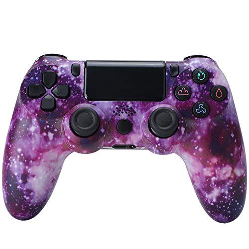 CNMLGB Wireless Controller für PS4 Slim/PS4 Pro,USB Controller für PC,Bluetooth Gamepad mit Dual-Vibration Audiofunktionen Playstation Controller Joystick - Klassisches Pink,W3