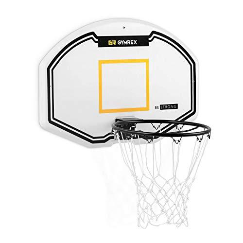 Gymrex GR-MG41 Basketballkorb 91 x 61 cm Ringdurchmesser 42,5 cm Basketballkorb Outdoor Basketballbrett Basketballboard