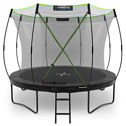 Kinetic Sports Gartentrampolin TUP1000, 305 cm, Black