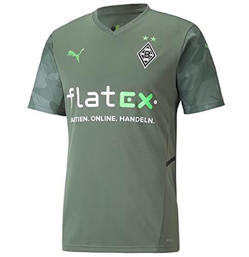Puma - Borussia Monchengladbach Saison 2021/22 Home Spielausrüstung Grün, XL, Unisex