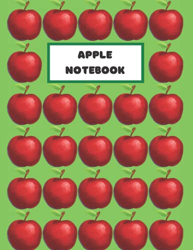 Apple Notebook: Perfect for any fruit or food lover!