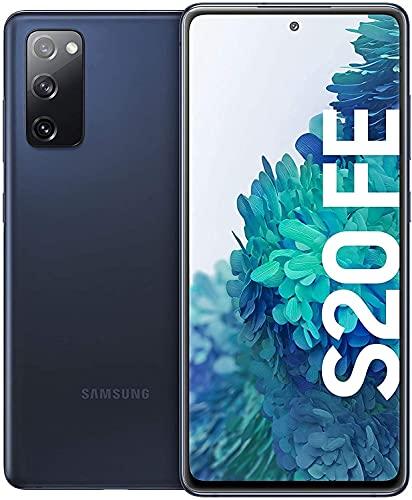 Samsung Galaxy S20 FE, Android Smartphone ohne Vertrag, 6,5 Zoll Super AMOLED Display, 4.500 mAh Akku, 128 GB/ 6 GB RAM, Handy in Cloud Navy inkl 36 Monate Herstellergarantie [Exklusiv bei Amazon]