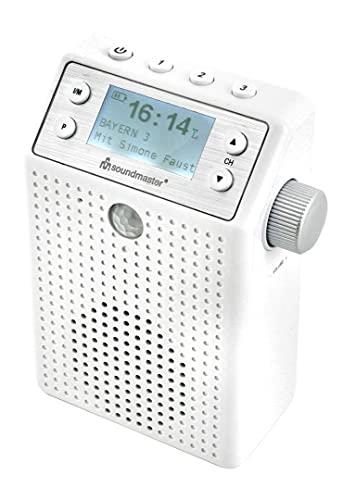 Soundmaster DAB60WE DAB+/UKW Steckdosenradio mit Bewegungsmelder und eingebautem Akku