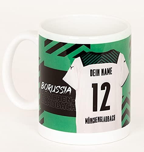 Borussia Mönchengladbach Tasse *Trikot Home 21/22* personalisierbar